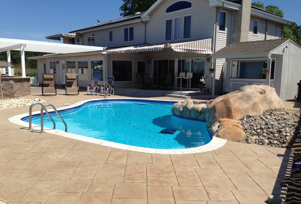 View Some Of Our Recent Pool Projects In Central New Jersey Below